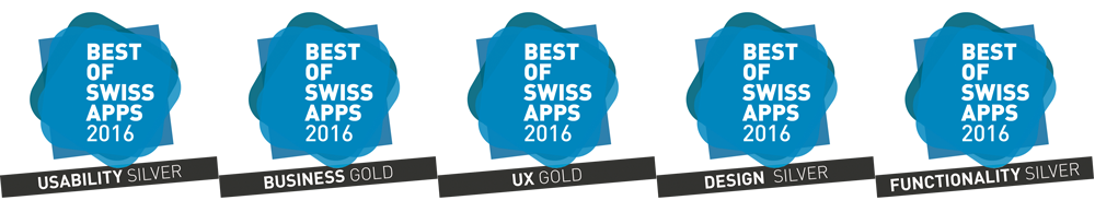 Best of Swiss Apps 2016
